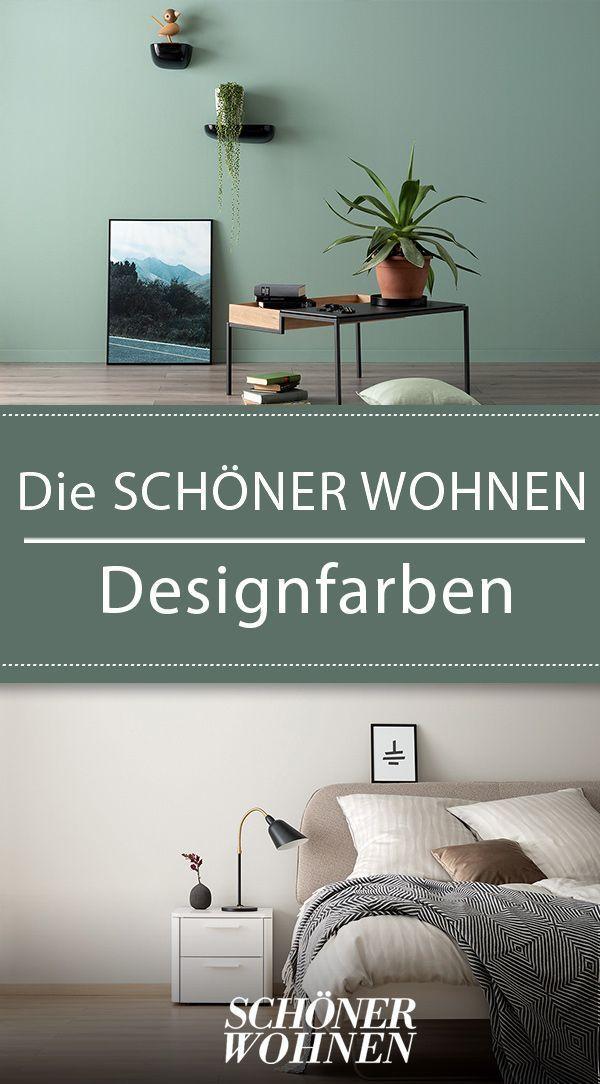 Neue Kollektion Die Schoner Wohnen Designfarben Mit Bildern Zimmer Einrichten Wohnen Schoner Wohnen Wandfarbe