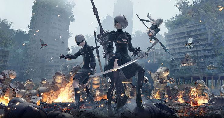 Nier Automata on PS4 Pro has superior image quality and a slightly more consistent frame rate