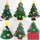 Kinder DIY fühlte Weihnachten Baum Hängendes Dekor Bunte kleine Anhänger XMAS – Pajmom