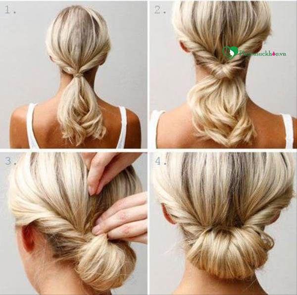 Hướng dẫn các kiểu búi tóc đẹp cho cô nàng cá tính - Phụ Nữ Sức Khỏe