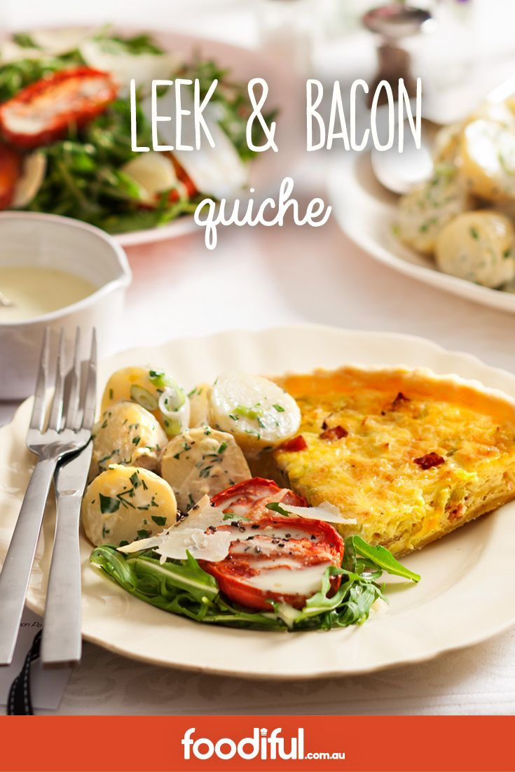 This quiche recipe is a great one when hosting as it can be made the day before. That means you can enjoy your time with friends and still deliver delicious results. This recipe takes 1 hr and 25 minutes and serves 6 people.