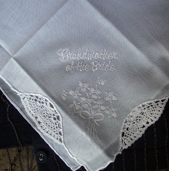 Wedding Handkerchiefs For The Family: 17 Best Images About Handkerchief On Pinterest