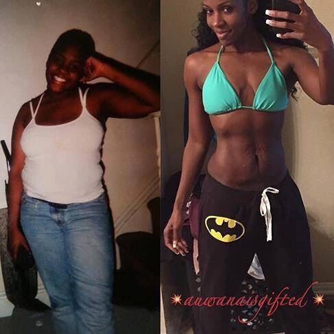 Fit Black Girls! — The lesson from this transformation is ...