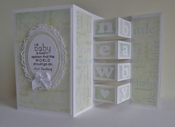 Baby Blocks by sistersandie - Cards and Paper Crafts at Splitcoaststampers