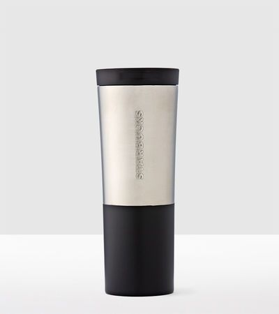 Stylish and functional, this 20 fl. oz. brushed stainless steel tumbler is a gift that your father will use day-after-day.