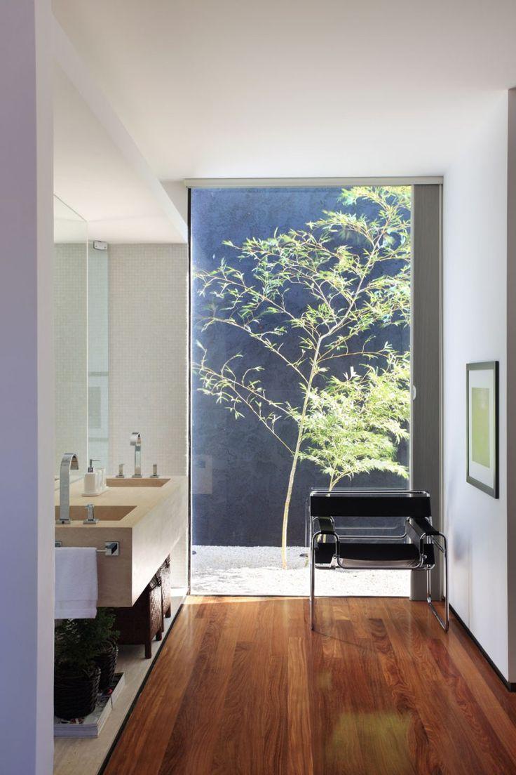 OM House By Studio Guilherme Torres. Modern Contemporary BathroomsContemporary  Home DesignModern ...