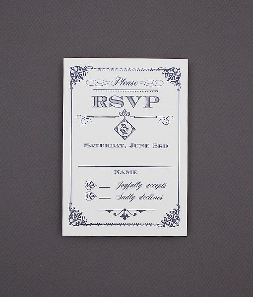 78 Best images about DIY Wedding RSVP