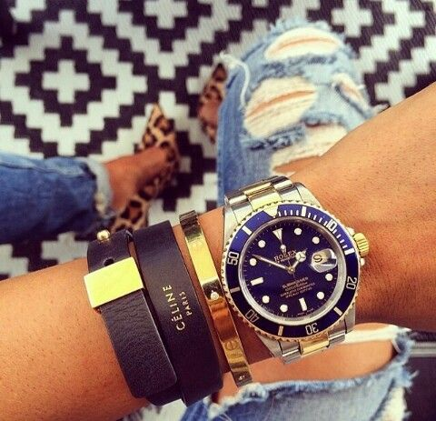 Rolex women watch.
