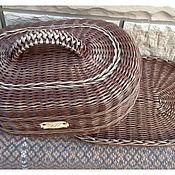 Для дома и интерьера ручной работы. Ярмарка Мастеров - ручная работа Хлебница овальная (венге). Handmade.