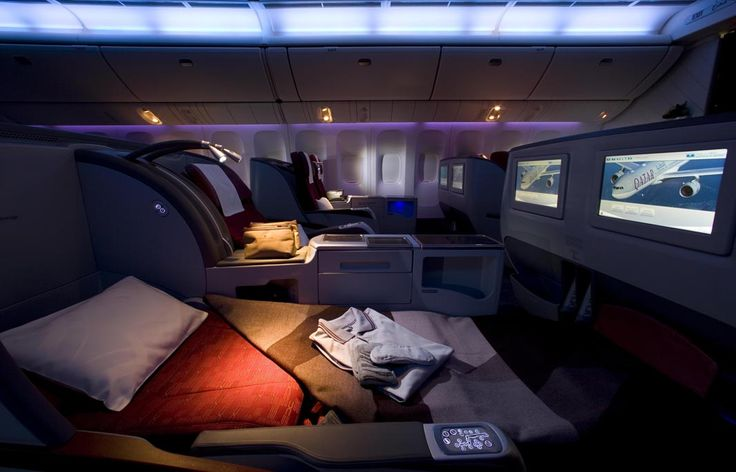 Qatar airlines first class sincerely pampers their