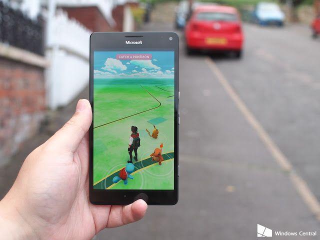 Pokemon GO Kini Bisa Dimainkan Di Ponsel Windows 10 Mobile