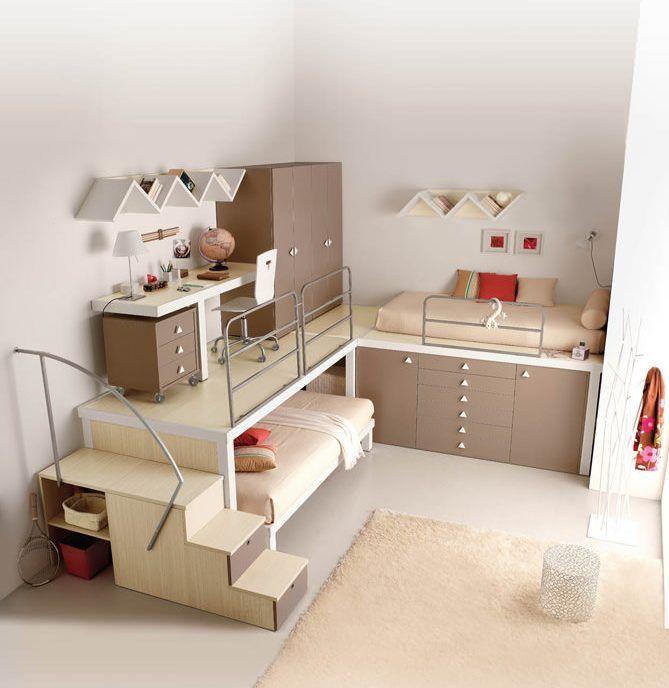 Las 25 mejores ideas sobre habitaciones juveniles for Ideas para habitaciones infantiles pequenas