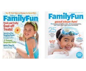 Enjoy a Free 1 Year Subscription to Family Fun Magazine! I love this magazine. Lots of FUN stuff!