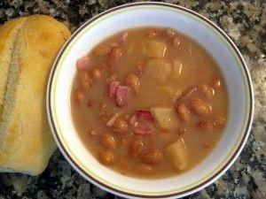 Sour Bean Soup (Kyslá Fazuľová Polievka)