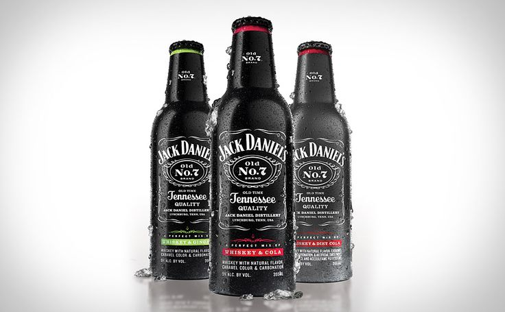 Jack Daniel's Ready-to-Drink  If you're busy slaying the rabid possums that are messing up your grand championship of cornhole, you probably don't have time to waste mixing your own Jack & Coke. Enter the Jack Daniel's Ready-to-Drink ($10) offerings. These perfectly mixed beverages, which come in aluminum-bottle four-packs, give you instant access to Jack & Cola, Jack & Ginger, or Jack & Diet Cola.