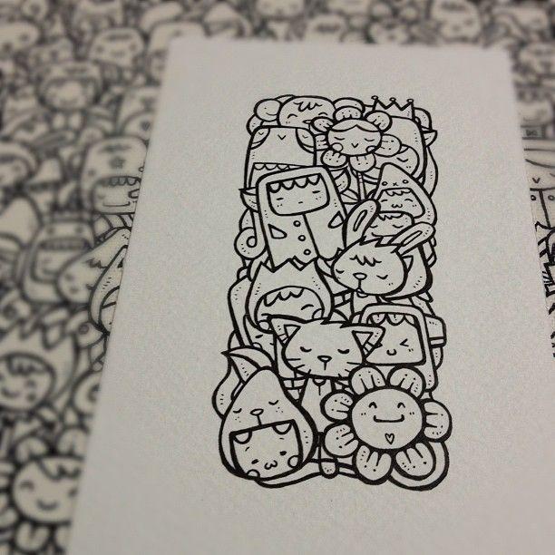 Original Illustration : Squared Sleepyhead