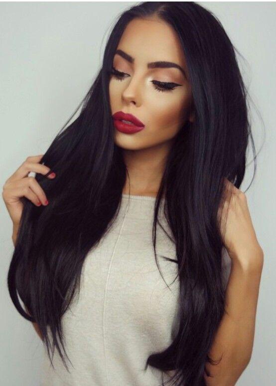 Remarkable 1000 Ideas About Dark Hair On Pinterest Hair Highlights And Short Hairstyles Gunalazisus
