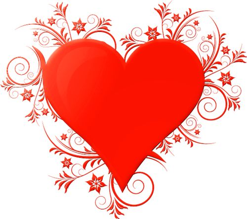 3d valentine heart model