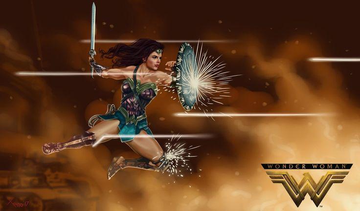 Wonder Woman Gal Gadot by xeno-agito