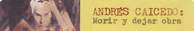 Andres Caicedo !