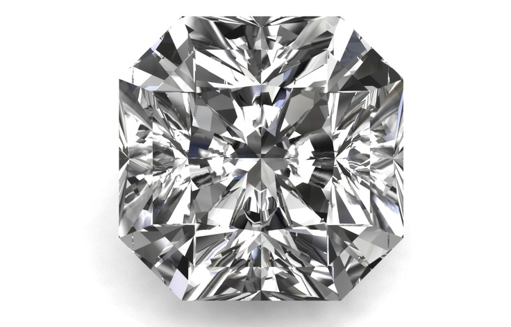 Square Radiant Cut @bensimondiamond #giveadiamond