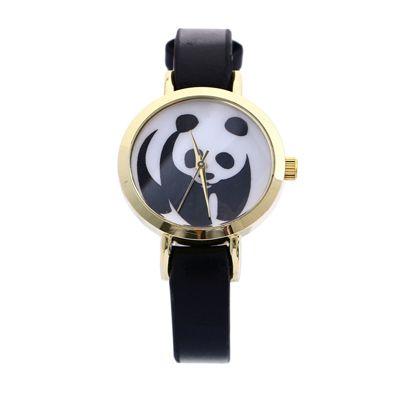montre panda noir  #montresfemmepascher #montresoriginales #montrestendance