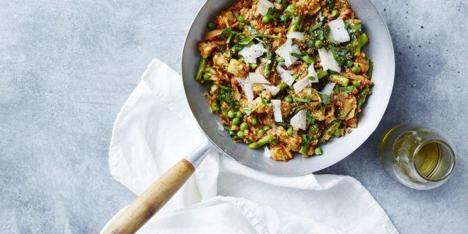 Spring Chicken Paella - I Quit Sugar