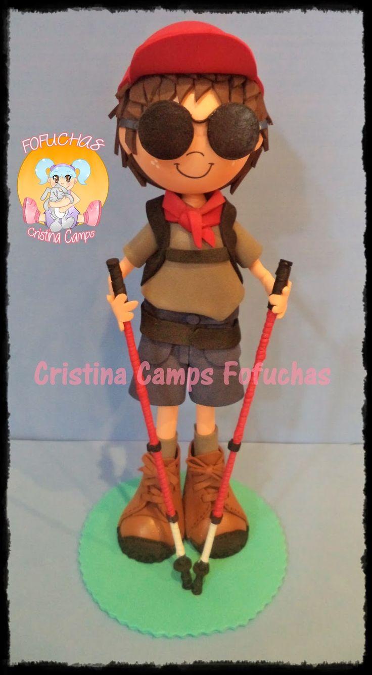 Cristina Camps Fofuchas: Fofucha montañera