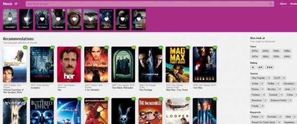 Hay muchos proyectos dedicados a la recomendación de películas. Desde el propio IMDB al sistema de recomendación de Netflix, las aplicaciones ayudan a encontrar el próximo título que debemos ver, y la mayoría de ellos funcionan gracias a los datos de los propios usuarios.La filosofía es sencilla: si a A le gusta la película M y N, y a B le gusta M y O, la probabilidad de que a...