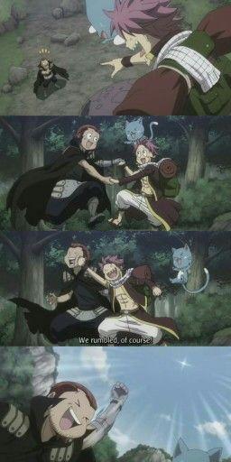 Fairy Tail - Gildarts & Natsu