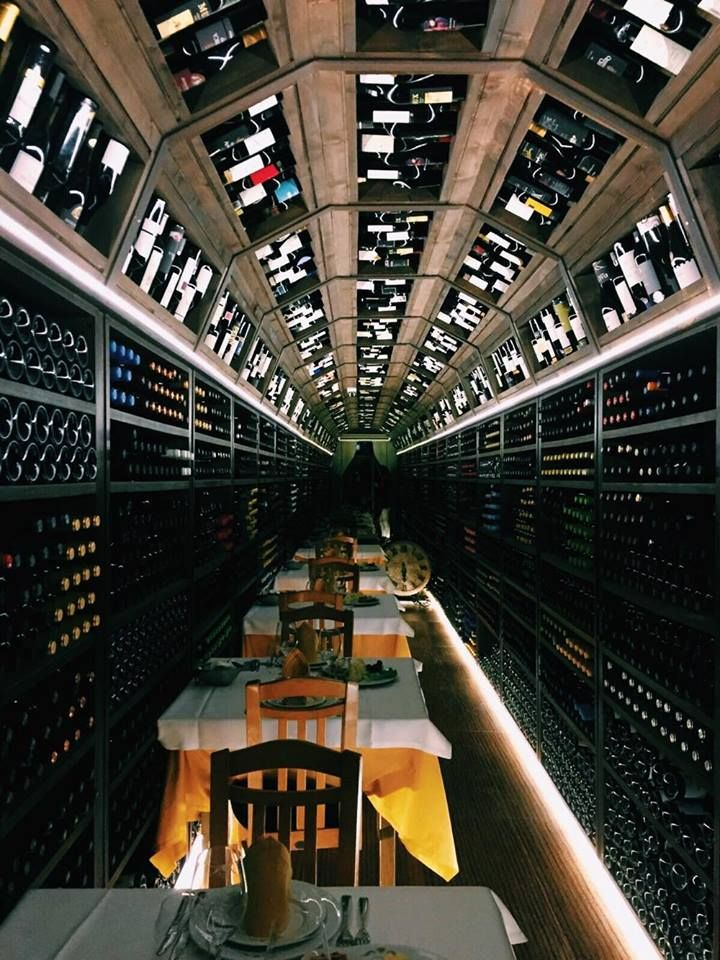 A restaurant with endless wines!