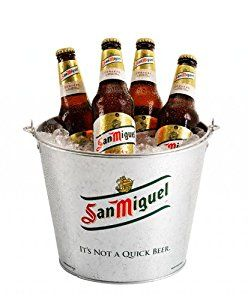 molson beer stein | San Miguel Ice/Bottle Bucket (Pack of 1): Amazon.co.uk: Kitchen & Home