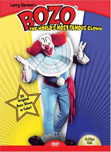 Bozo: the World's Most Famous Clown is a 4-DVD collection of the live action Bozo the Clown show from Boston, MA, starring Frank Avruch as Bozo the Clown http://bozo-the-clown.info/bozo-worlds-famous-clown-volume-1/