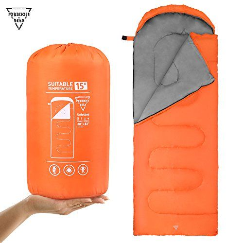 Forbidden Road Lightweight Envelope Sleeping Bag 300 Gsm For 15 60 Compact Portable Compression Backpacking Hiking And Camping