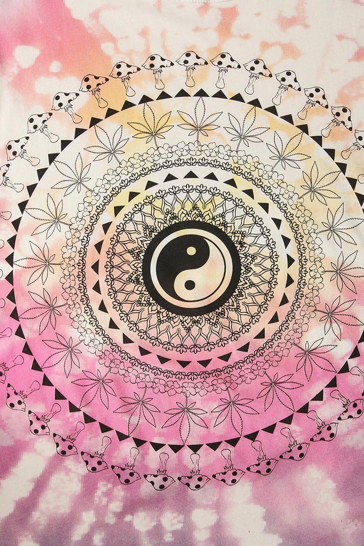 Iphone wallpaper tumblr boho - Truly Madly Deeply Mushroom Mandala Tee