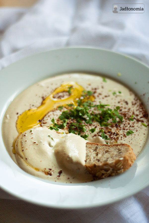 jadłonomia • roślinne przepisy: Hummus idealny