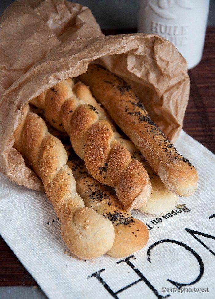 Grissini veloci - Big&Fat Breadsticks by Lorraine Pascale