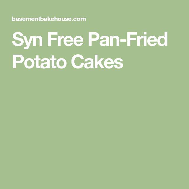 Syn Free Pan-Fried Potato Cakes