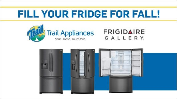 CTV Morning Live wants to get you ready for the hibernation season by giving you the chance to win a Frigidaire Gallery refrigerator plus $500 gift card to fill it, courtesy of Trail Appliances! Click for more details.