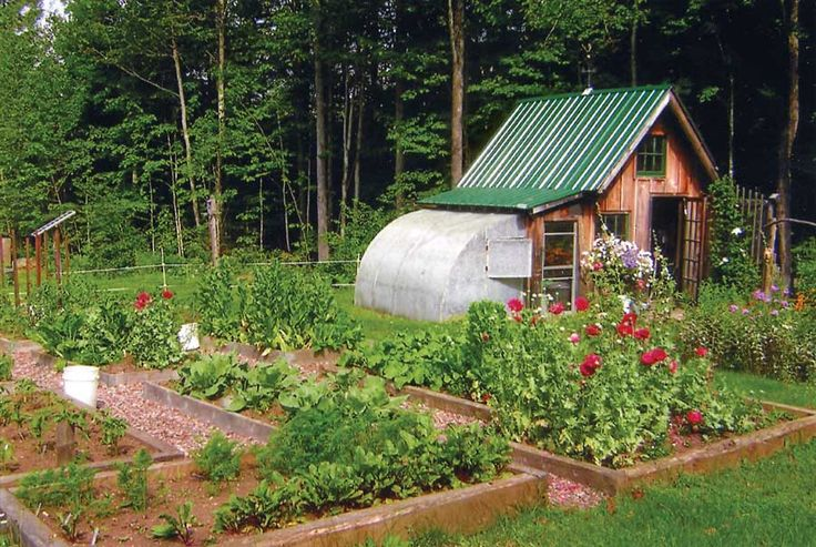 This garden shed is also a greenhouse, which the Vanausdolls have found to be useful in their temperamental Pacific Northwest climate. Description from pinterest.com. I searched for this on bing.com/images