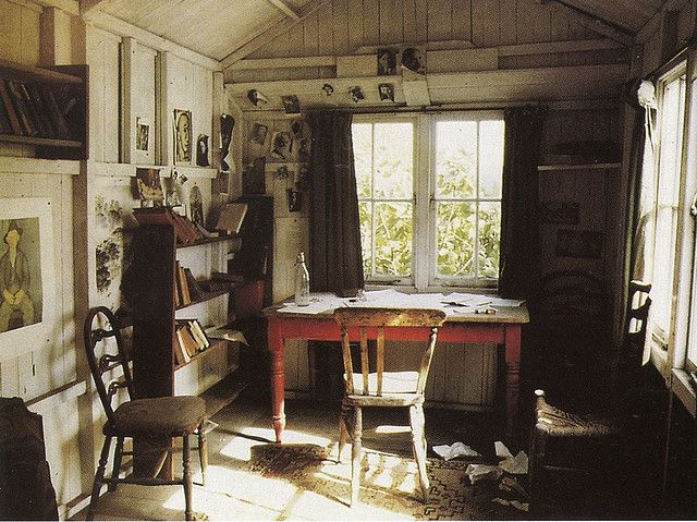 Can this be my office?  That little window could look out onto my garden.