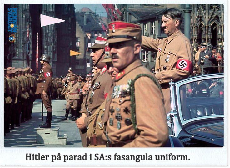 """Var Hitler homosexuell? Hade han judiskt blod i sig? Var han impotent? De allierade gjorde stora ansträngningar att förstå Hitler & hans agerande. Spaltmeter avhandlingar skrevs om Hitler. I USA fick """"Hitlers pianospelare"""" Ernst Hanfstaengl berätta om Hitler. Många myter från kriget har varit seglivade som att Hitler & Eva Braun lyckades ta sig till Argentina, tyska ubåtsbaser på Irland eller Rudolf Hess kontakter med brittiska kungligheter."""