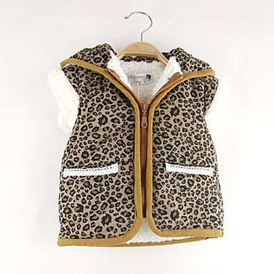 Girl's Leopard Cotton