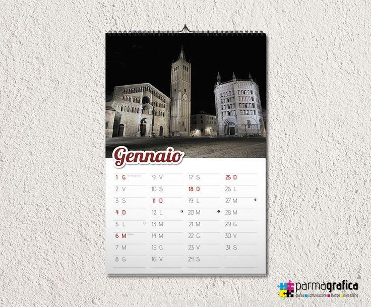 Calendario murale personalizzato