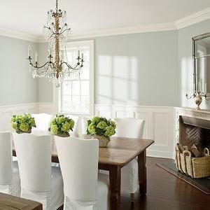 Benjamin Moore - dining rooms - Benjamin Moore - Wickham Gray - blue | Family room inspiration ...