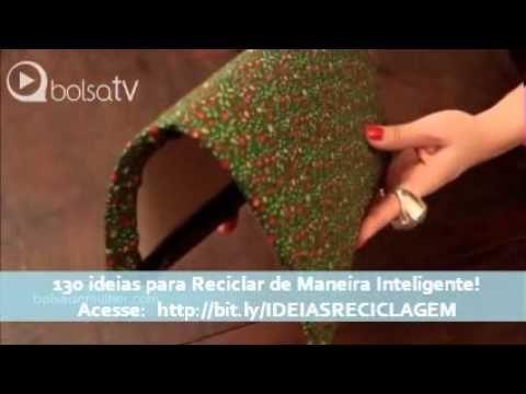 ▶ Como fazer carteira de tecido passo a passo - YouTube