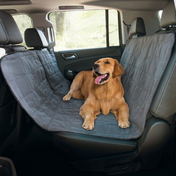Pawslife Quilted Pet Hammock Car Seat Cover Pet Hammock Dog