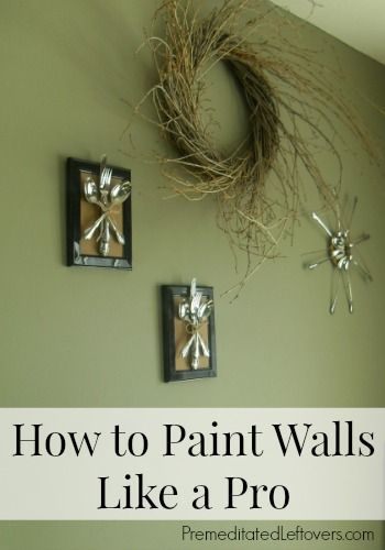 How to Paint Walls - Tips for Painting Walls Like a Pro! Use these tips to paint your walls yourself and achieve a professional look.