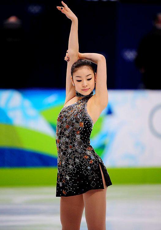 2010 Ladies Olympic Figure Skating Champion, Yu-Na Kim (South Korea)