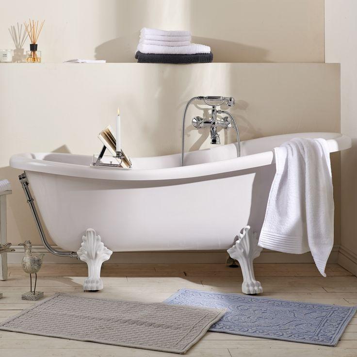 Cleopatra volně stojící vana, koupelna, vana, bytový design, inspirace / stylish bath
